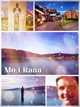 Mo i Rana - a small farming and trading outpost near the Polar Circle since the iron age