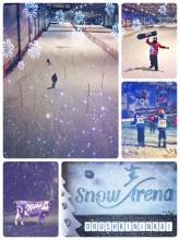 Snow Arena - freezing indoor snow fun with the Czech Ski Team