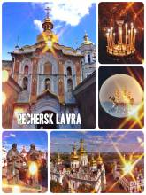 Pecherska Lavra - monastery of the caves - used to be the Christians principality