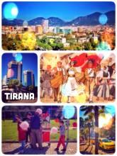 Tirana - subtropic capital with an adorable flair