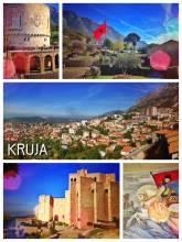 Krujë Castle - impressive mountain village and castle