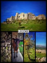 Lezhë Castle - lively castle ruin with stunning view