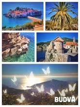 Budva - rock peninsula with many layers of history