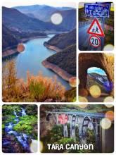 Tara Canyon - a deep and long natural spectacle