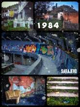 Olympia 1984 - built, used, abandoned, reclaimed by nature