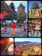 Sarajevo - the city of war, cemeteries and coffee