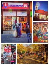 Bratislava - quiet and colorful old town