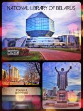 National Library of Belarus - all the wisdom of a nation in one ball