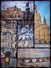 Dresden - black churches, green parks and red hats