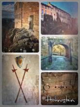 Hohnstein Castle - romantic village on a sandstone rock