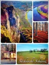 Saxon Switzerland - even smaller than the original