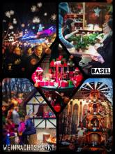 Christmas Market - allegedly the biggest in Switzerland
