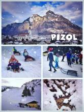 Pizol - Fast and Furious: Riding down the mountain on a peace of metal