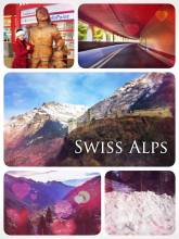 Swiss Alps - Crossing the Swiss Alps through different tunnels