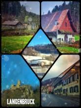Langenbruck - Passing the former recreation resort of Basel