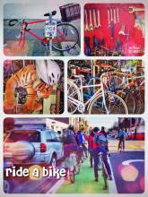 Ride a Bike - San Francisco is probably the most bicycle friendly place in the USA