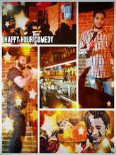 Happy Hour Comedy - laughing to international stand up comedians and then dancing to freaky music