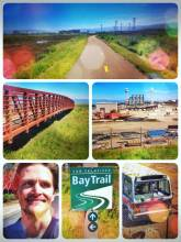 Bay Trail - slowing down and enjoying the beauty of the bay area on an old bicycle