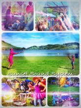 Sunset Sound System - opening the outdoor dancing season with a great daytime rave by the lake