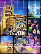 Sacramento - pretty quiet on a weekend, but there is still plenty of stuff to do and see