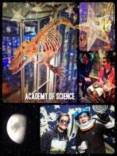 Academy of Sciences - science at night, with music and with a cocktail is so much more fun