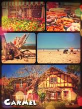 Carmel-By-The-Sea - a small fairy tale township with endless art galleries and sweet candy stores