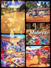Malinya - visiting a small rural market far away from the next city or infrastructure