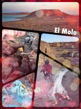 El Molo - visiting a small village of a local tribe with nothing but straw huts and fish