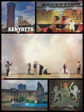Kenyatta International Convention Centre - climbing the Kenyatta tower and enjoying the view over green Nairobi