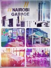 Nairobi Garage - checking out one of the many melting pots of creativity and innovation