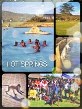 Olkaria Health Spa - enjoying a relaxing bath in a hot spring after a long day of hiking and cycling