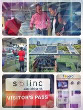 Solinc - rare manufacturing (assembly) plant for solar panels and home systems in Kenya