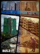 Rebuild Nairobi - rebuilding a complete city from scratch, but missing out the fundament