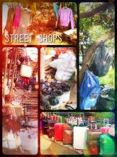 Street Shops - shopping in the streets is so much more fun than going to a sterile mall