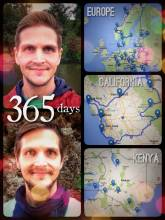 365 days on the road - 365 days ago I left Switzerland, my home and job to travel the world!