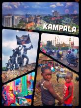 Kampala - exploring the seven hills of Uganda's capital, mostly with Boda Bodas
