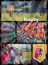 Kyadondo Rugby Club - tasting the best roasted pork in all of Kampala at the Rugby stadium