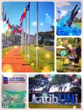 United Nations - having lunch and a private tour with a new Swiss friend from Nairobi