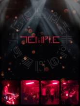 Temple - celebrating the night and pumping techno beats on a hidden rooftop