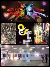 Arts to end Slavery - combining creative arts with political statements to create awareness