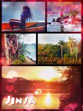 Jinja - swimming, dancing and enjoying the sunset at the source of the Nile river