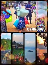 Cyangugu - walking along Lake Kivu's coast and the border to the Congo