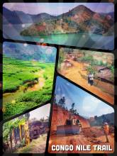 Congo Nile Trail - driving the picturesque and mounteneous shoreline of Lake Kivu in Rwanda
