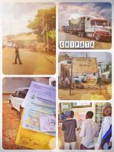 Chipata (Malawi > Zambia) - crossing the border from Malawi to Zambia and waiting for 3 tax receipts