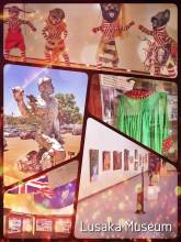 Lusaka National Museum - where beautiful contemporary art meets Zambian history and culture in one exhibition