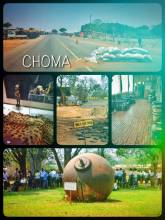 Choma - small town between Lusaka and Livingstone, where Zambia found inner peace