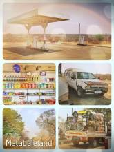 Matabeleland - driving through the middle of nowhere and talking our way out of fines / bribes