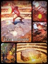 Hoba Meteorite - inspecting the largest meteorite from outer space found on planet earth (yet)