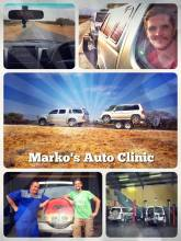 Marko's Auto Clinic - getting pulled all the way to Windhoek ... and finally getting the car running again!