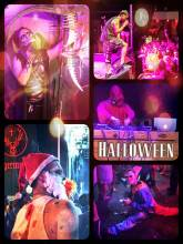 Halloween - more madness: wild party with 5th generation European immigrants in creepy costumes